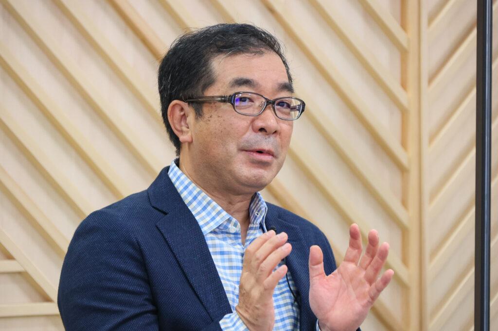 積水ハウス代表取締役 社長 執行役員 兼 CEOの仲井嘉浩さん