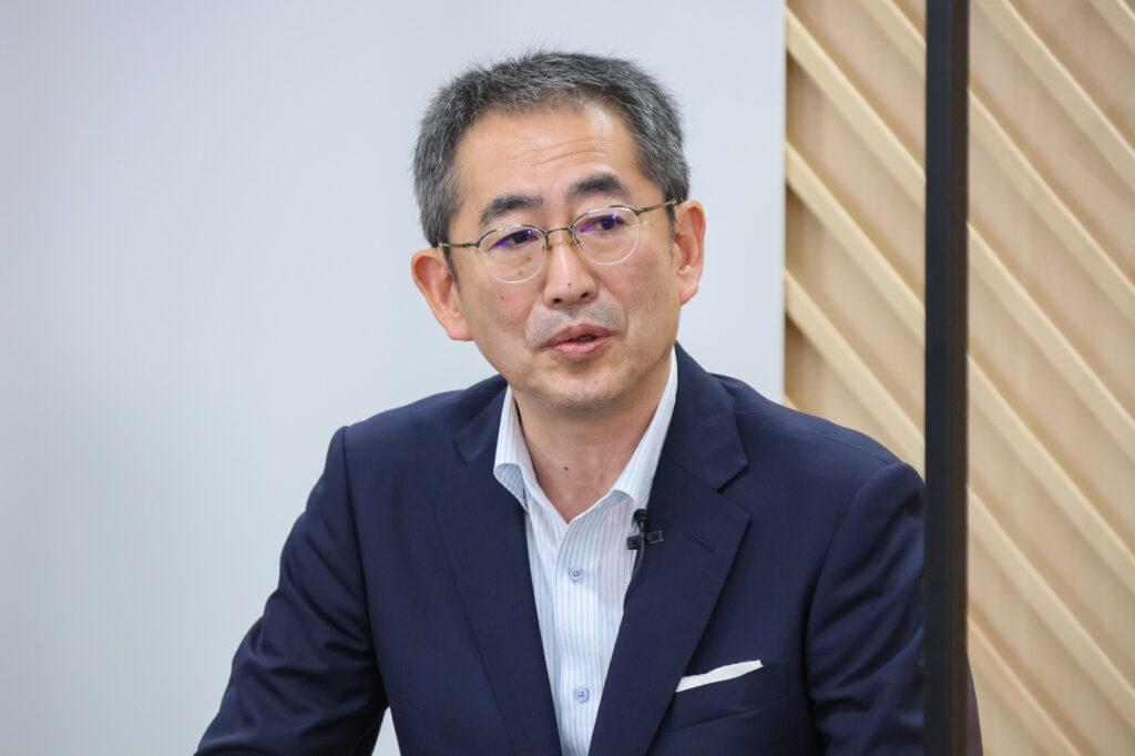 日本ユニシス代表取締役社長CEO・CHOの平岡昭良さん